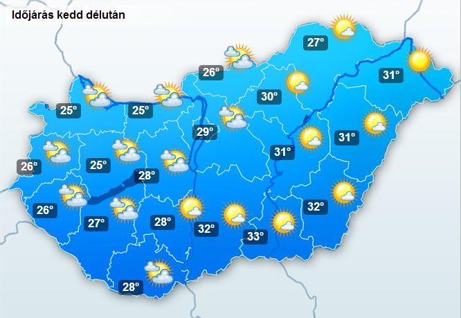 magyarország időjárás térkép Ilyen lesz az ünnepi időjárás | magyarország időjárás térkép