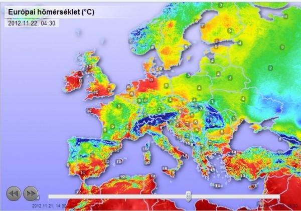 időjárási térkép európa Európai időjárási helyzet | időjárási térkép európa