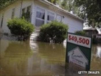 Rekord árvíz a Mississippin